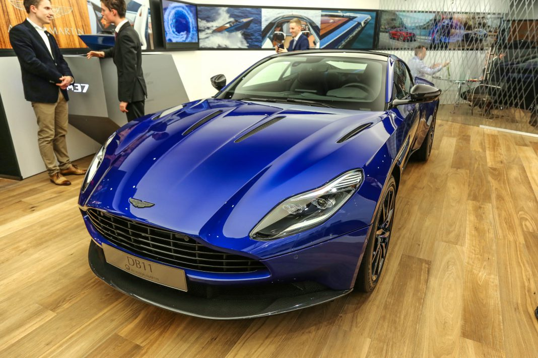 Aston Martin DB11 at Geneva 2017