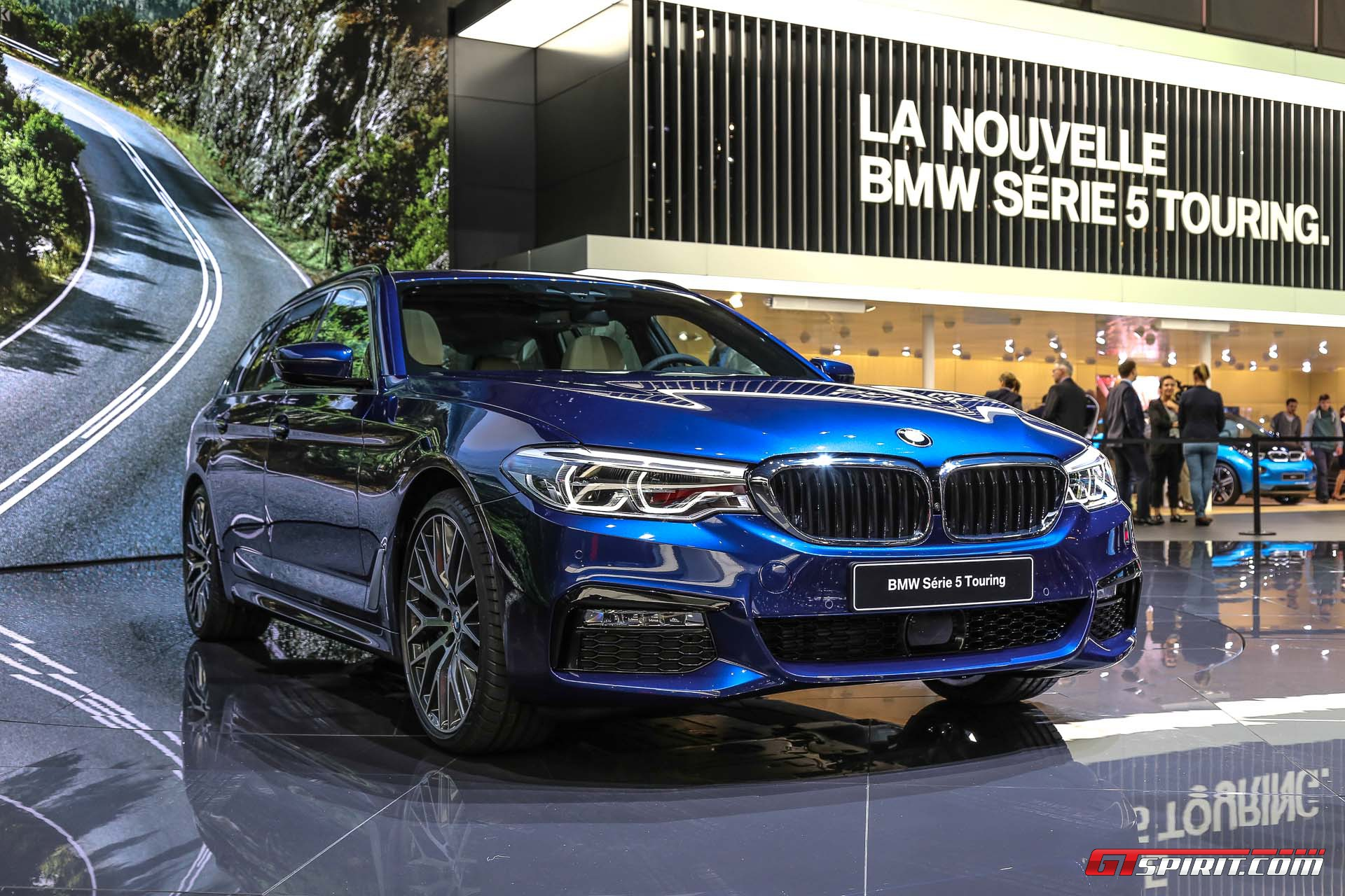 Geneva 2017: BMW-5 Series Touring - GTspirit