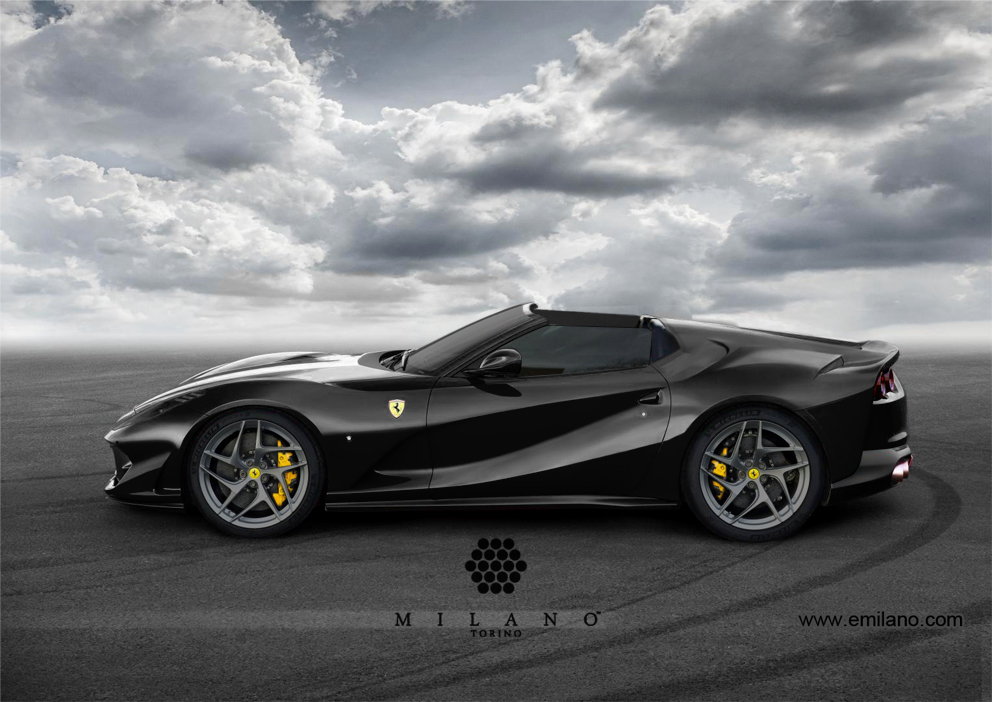 2018 ferrari 812 superfast. wonderful 2018 ferrari 812 superfast aperta render 1 of 3 and  in 2018 ferrari superfast