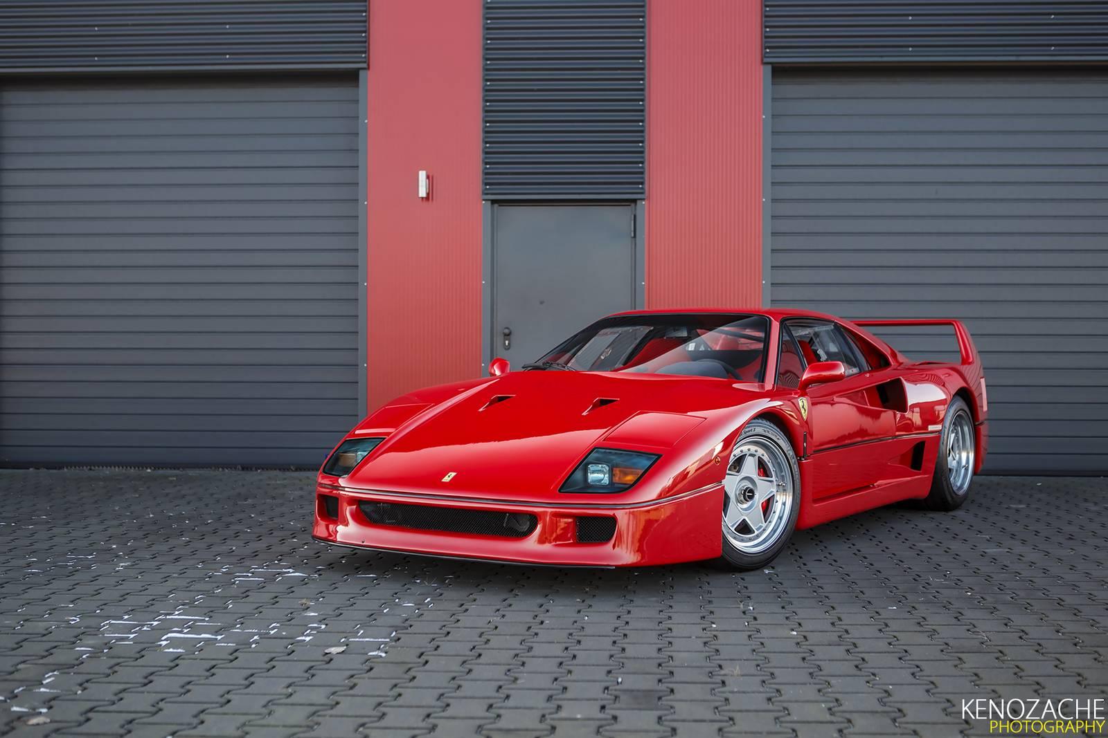 Photo Of The Day Happy 30th Birthday Ferrari F40 Gtspirit