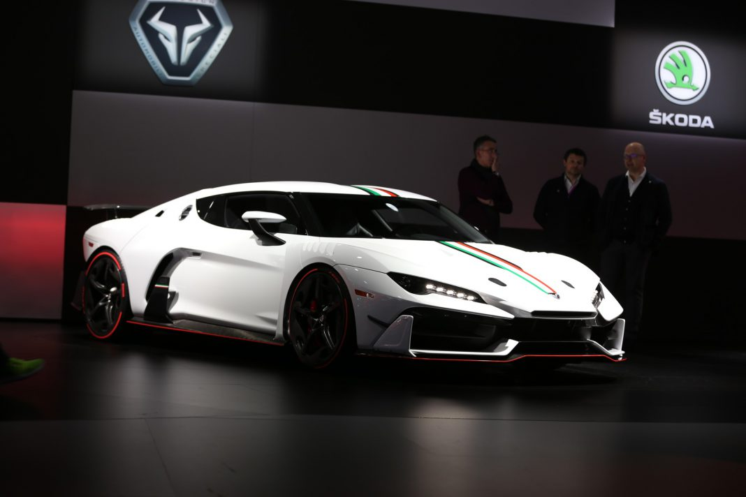 Italdesign Zerouno at Geneva 2017