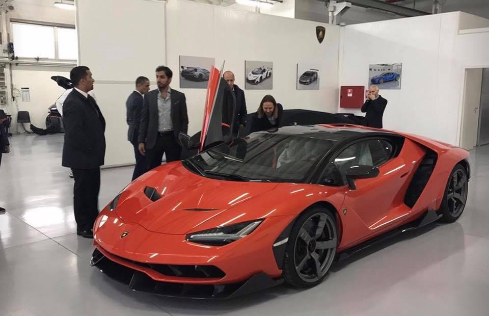 Matte Black Lamborghini Centenario Delivered In Germany Gtspirit