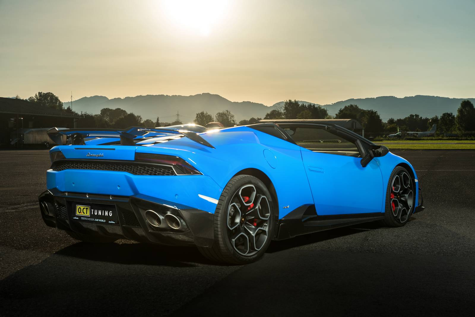 official 805hp lamborghini huracan spyder by o ct tuning gtspirit. Black Bedroom Furniture Sets. Home Design Ideas