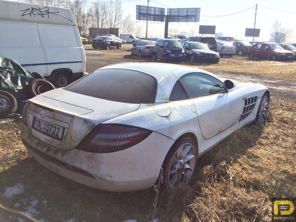 Mercedes Benz Slr Mclaren Abandoned In Czech Republic Since 2011