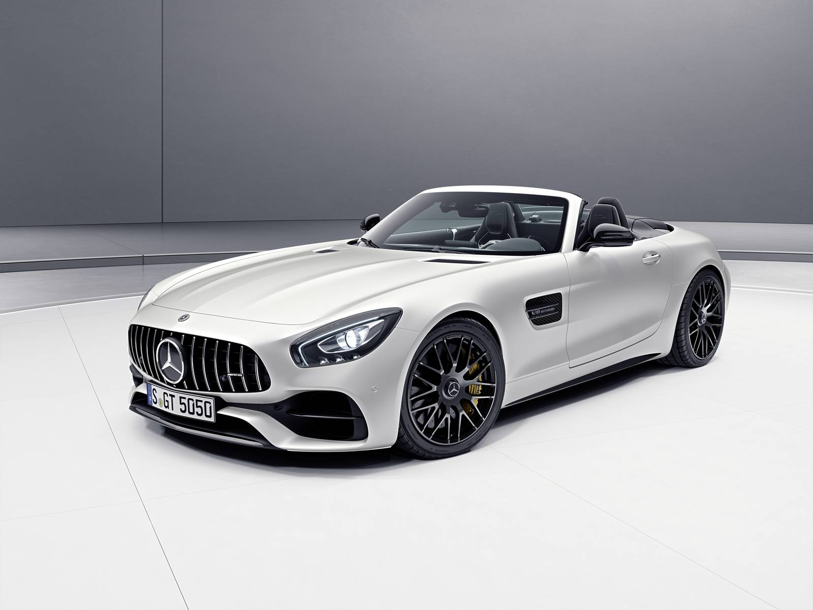 The Mercedes AMG GT C ...