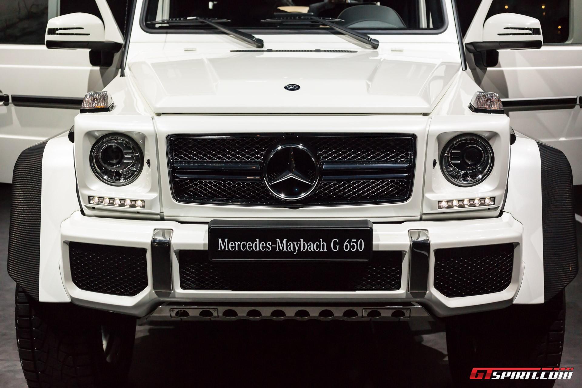 Geneva 2017 mercedes maybach g650 landaulet gtspirit for Mercedes benz maybach