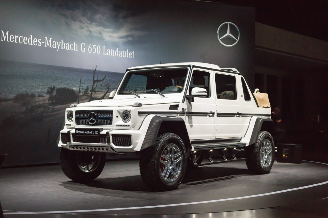 Geneva 2017 mercedes maybach g650 landaulet gtspirit for Mercedes benz 650