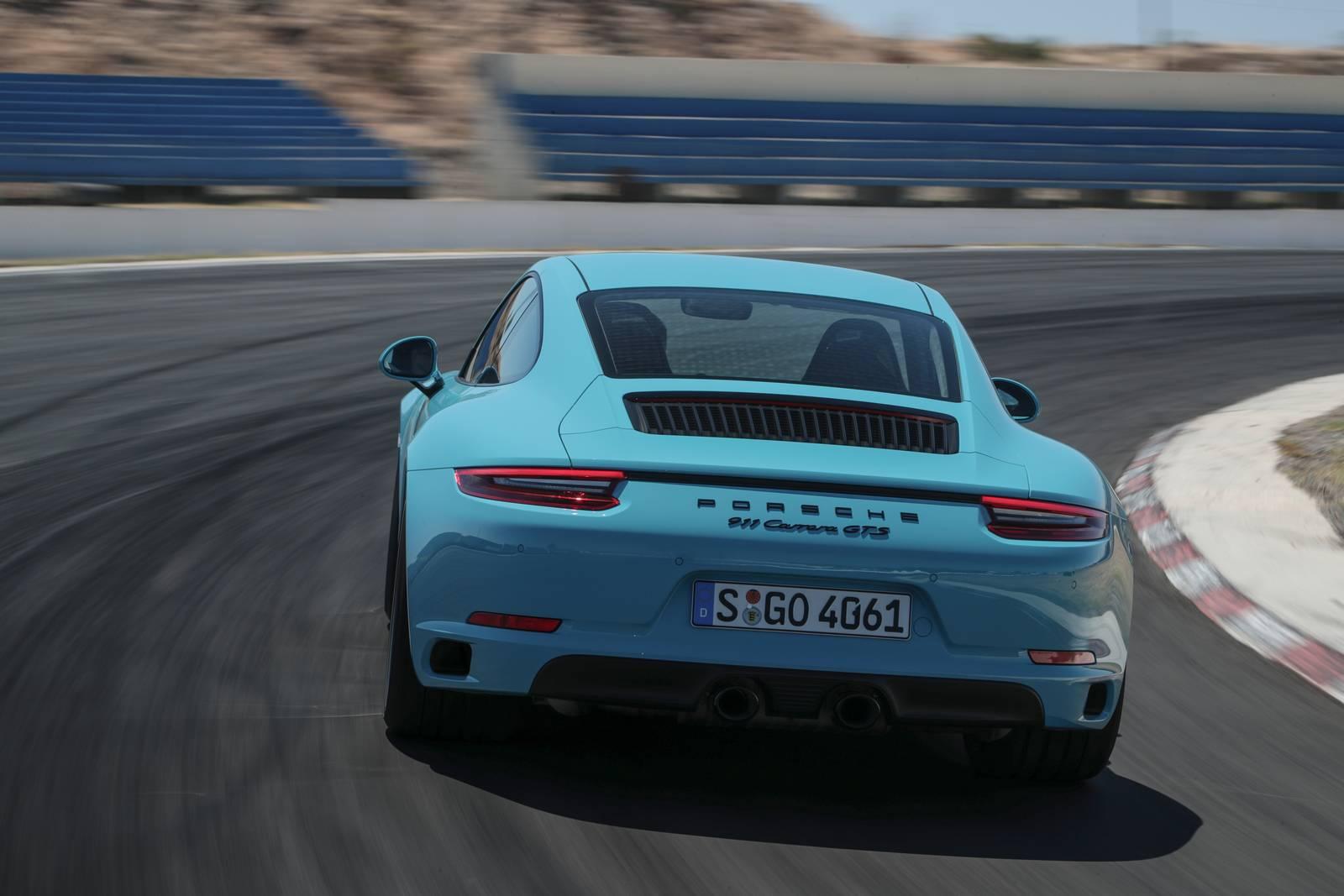 Porsche Mission E >> 2017 Porsche 911 GTS Faster than 991.1 GT3 at Nurburgring, 7m 24s - GTspirit