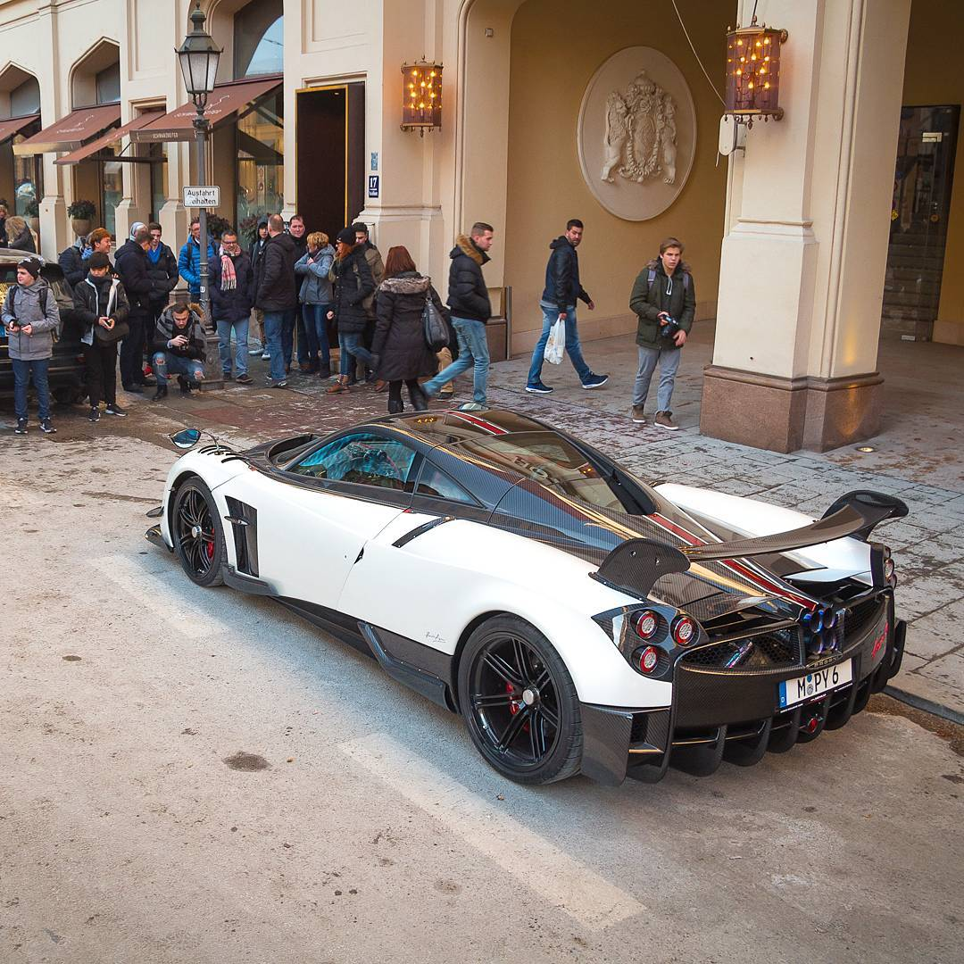 Pagani Huayra Bc For Sale Production 20 Cars: 2nd Pagani Huayra BC Arrives In Munich...Now In Purple