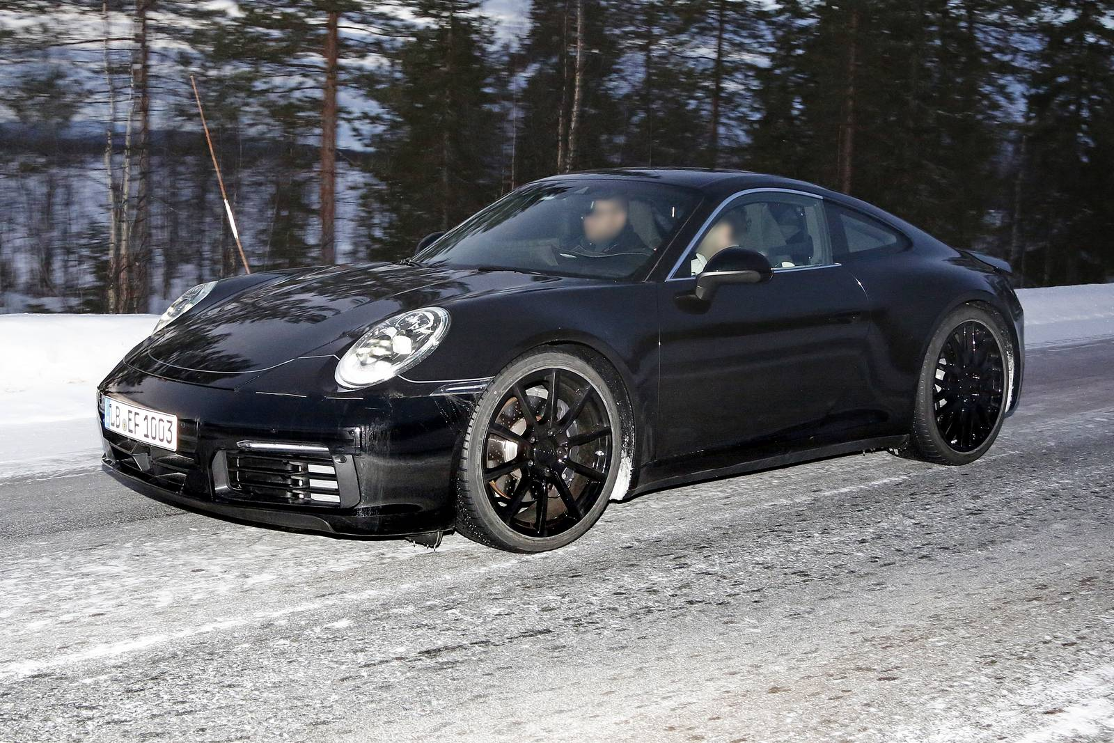 2019 Porsche 911 Turbo S >> Spy Shots: 8th Gen 2019 Porsche 911 Type 992 - All Turbo Including GT3 - GTspirit
