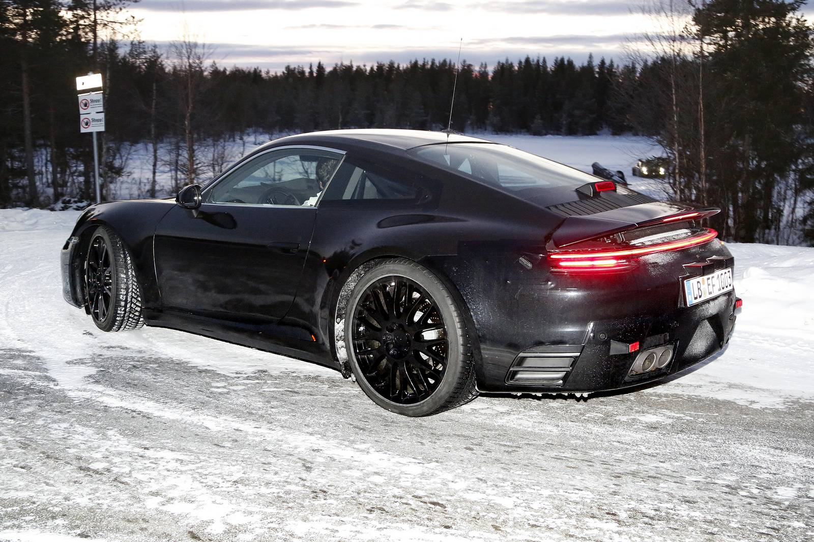 Spy Shots 8th Gen 2019 Porsche 911 Type 992 All Turbo