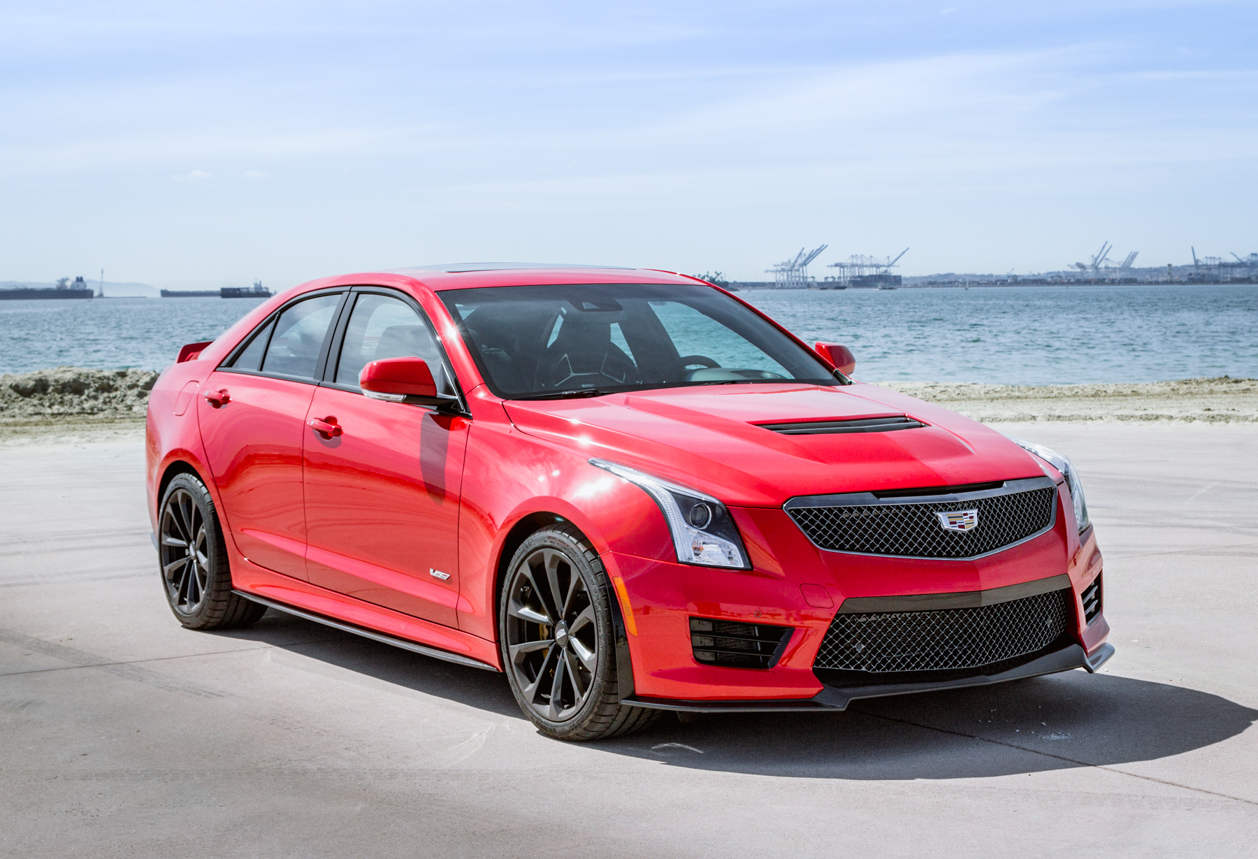 2017 Cadillac ATS-V Review - GTspirit