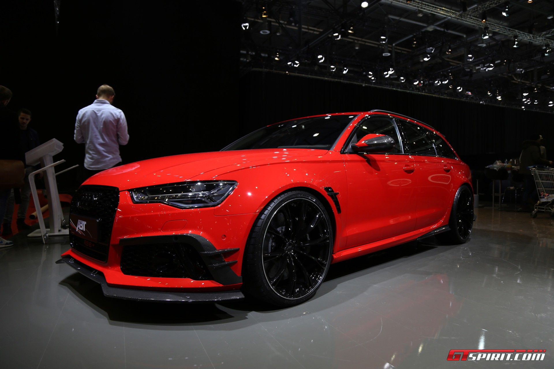 Geneva 2017 Abt Audi Rs6 With 705hp Gtspirit