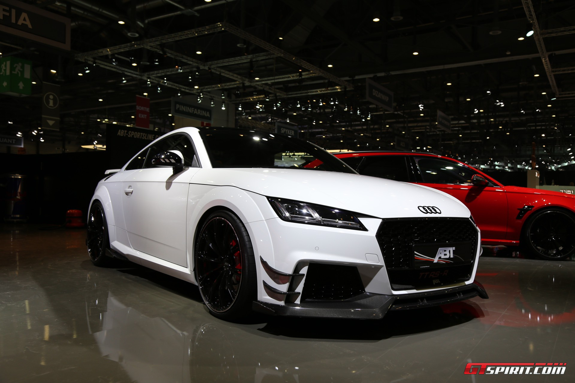 geneva 2017 abt audi tt rs r with 500hp gtspirit. Black Bedroom Furniture Sets. Home Design Ideas