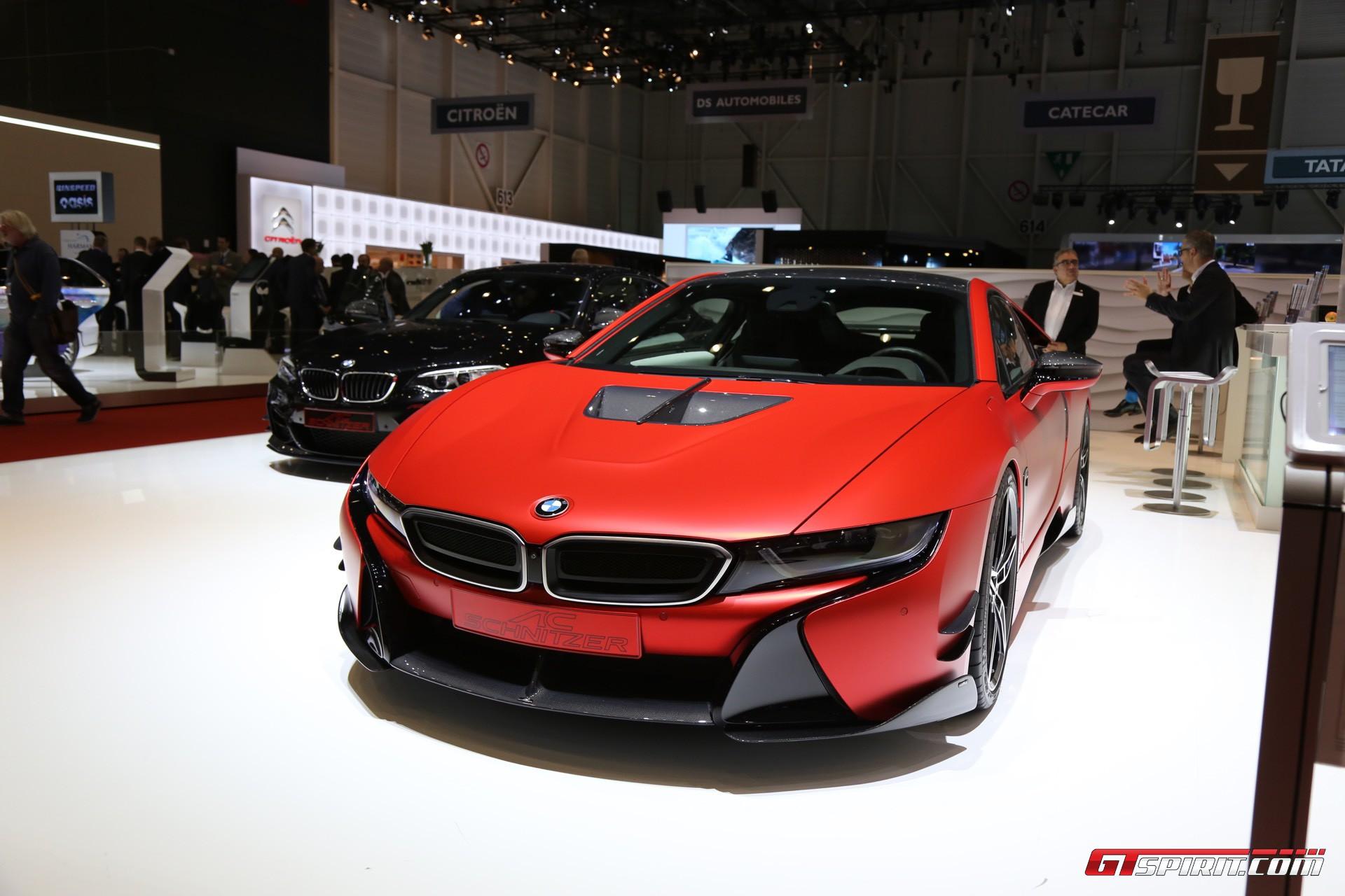 Geneva 2017 AC Schnitzer BMW I8 Motor J