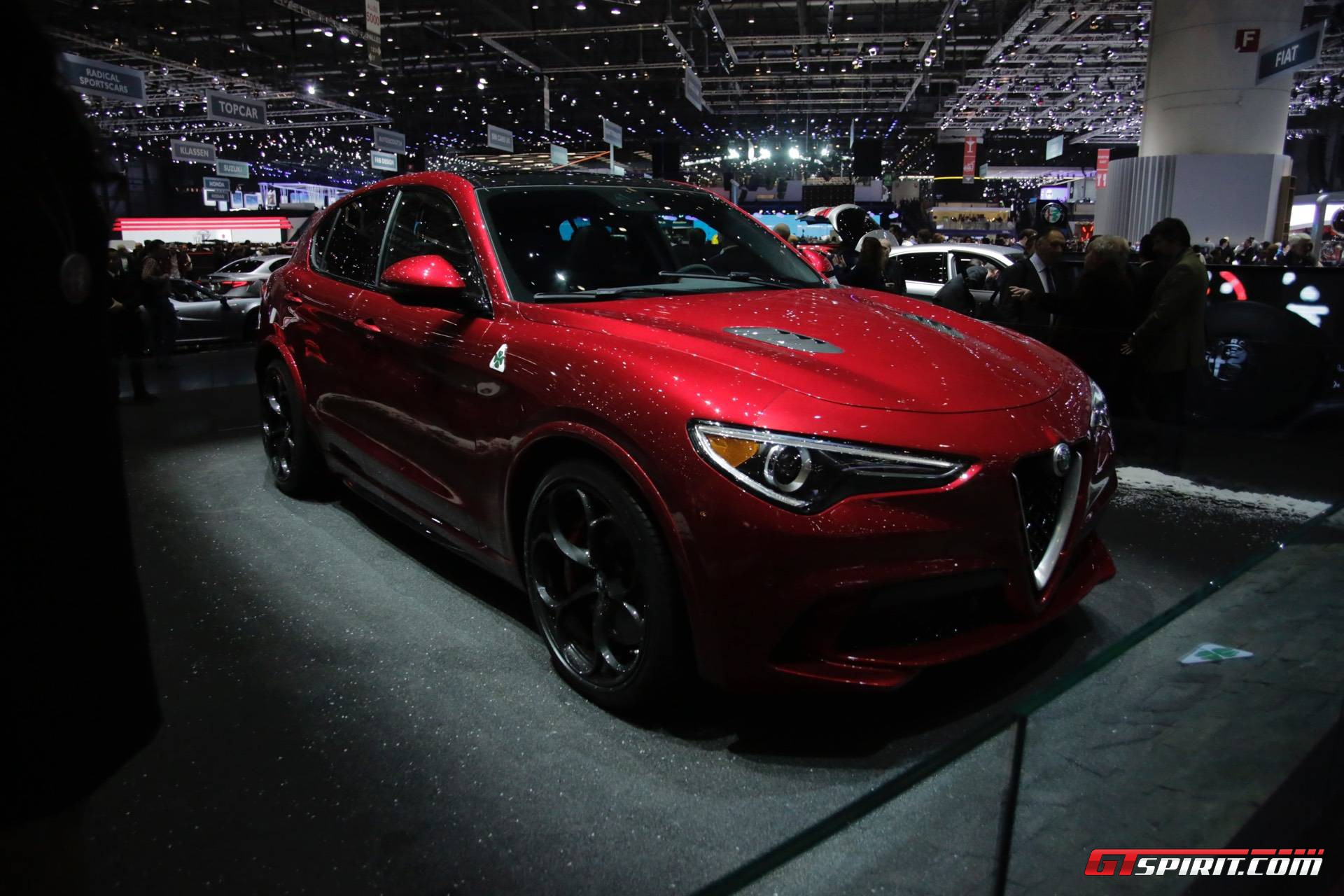 Geneva 2017: Alfa Romeo Stelvio QV - GTspirit
