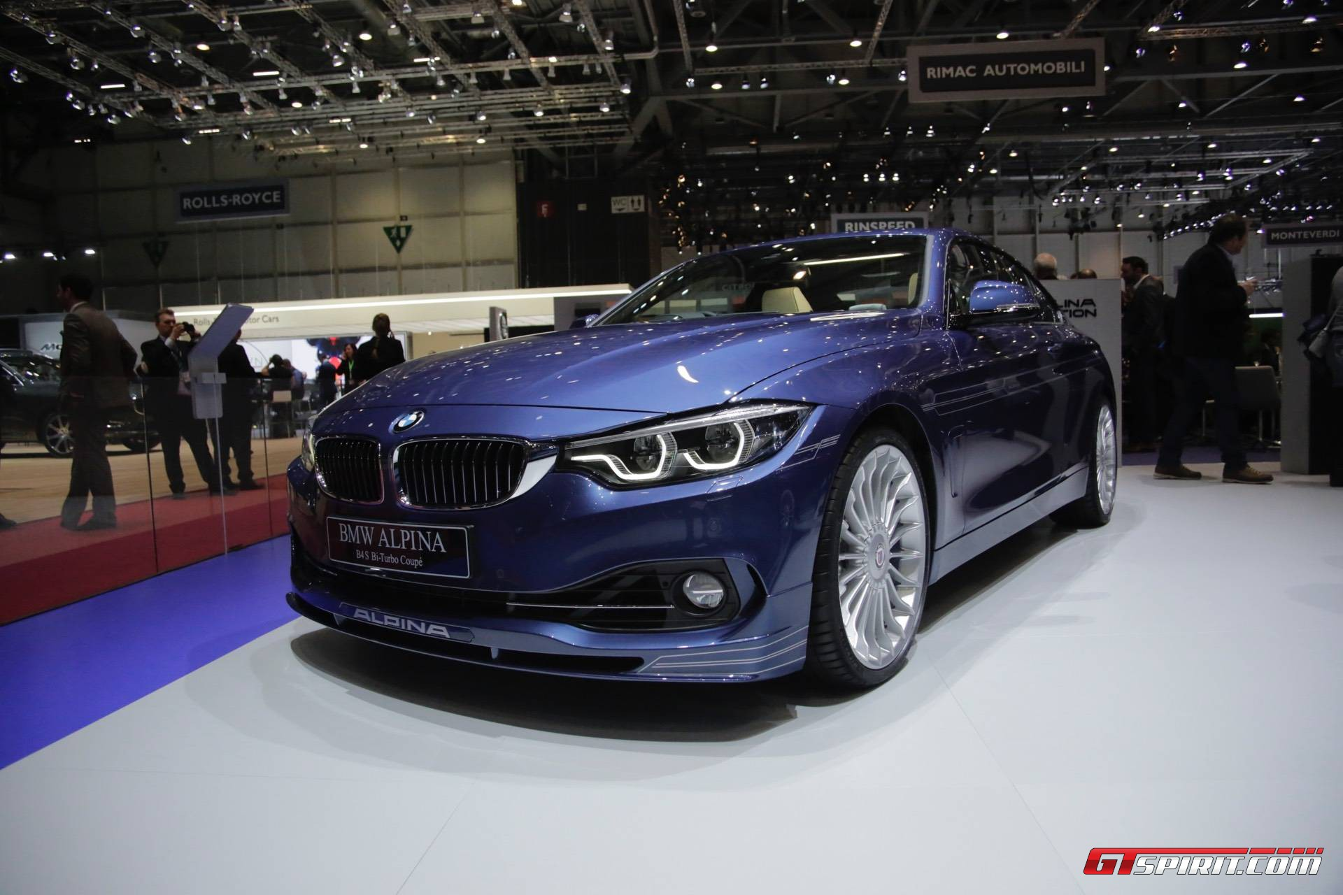 Geneva BMW Alpina B S BiTurbo GTspirit - Bmw alpina price range