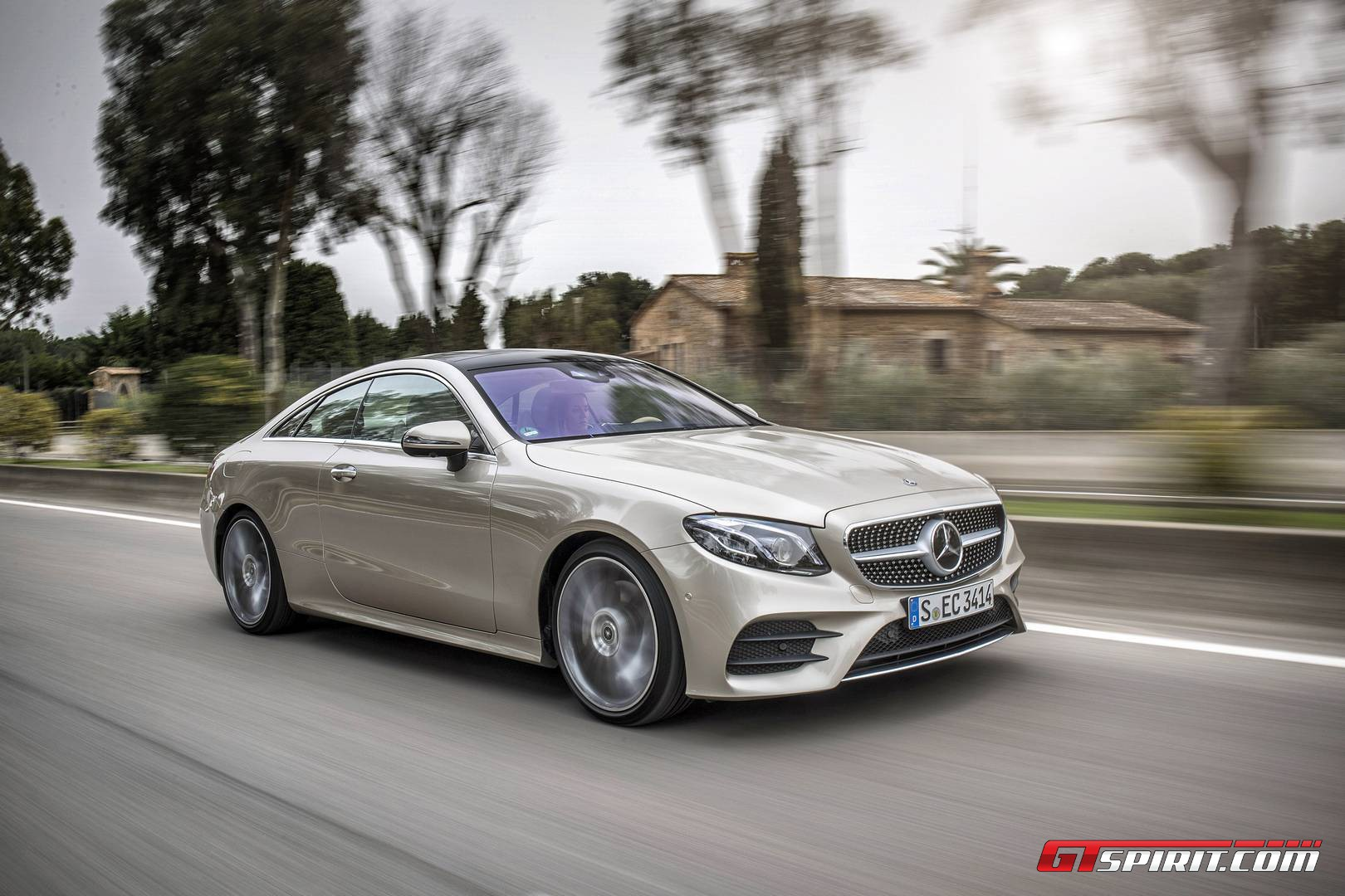 2017 mercedes-benz e-class coupe review - gtspirit