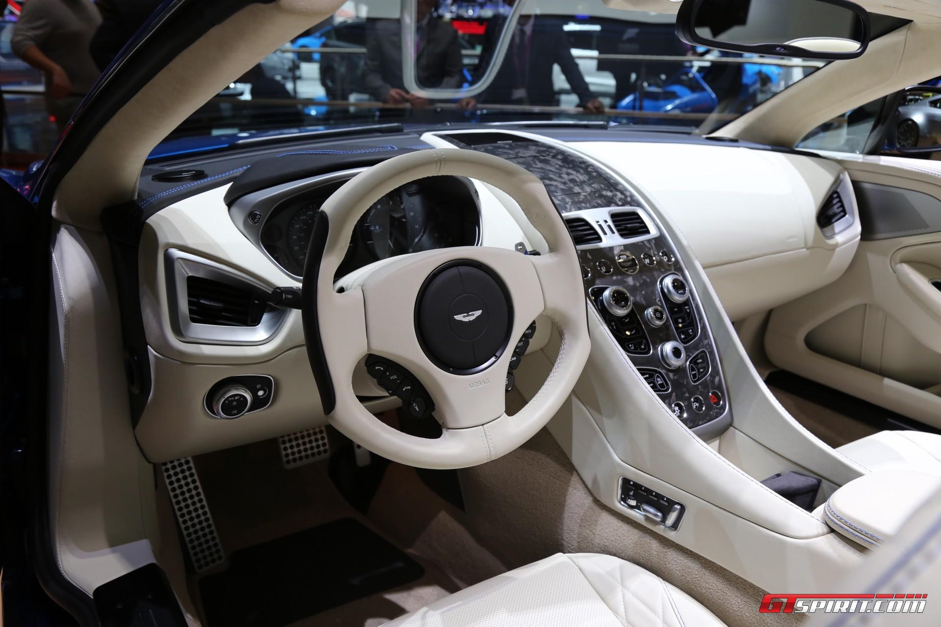 Geneva 2017: Aston Martin Vanquish S Volante - GTspirit
