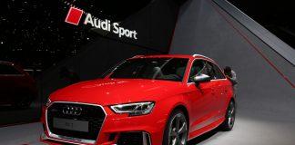 Audi RS3 Sportback at Geneva 2017