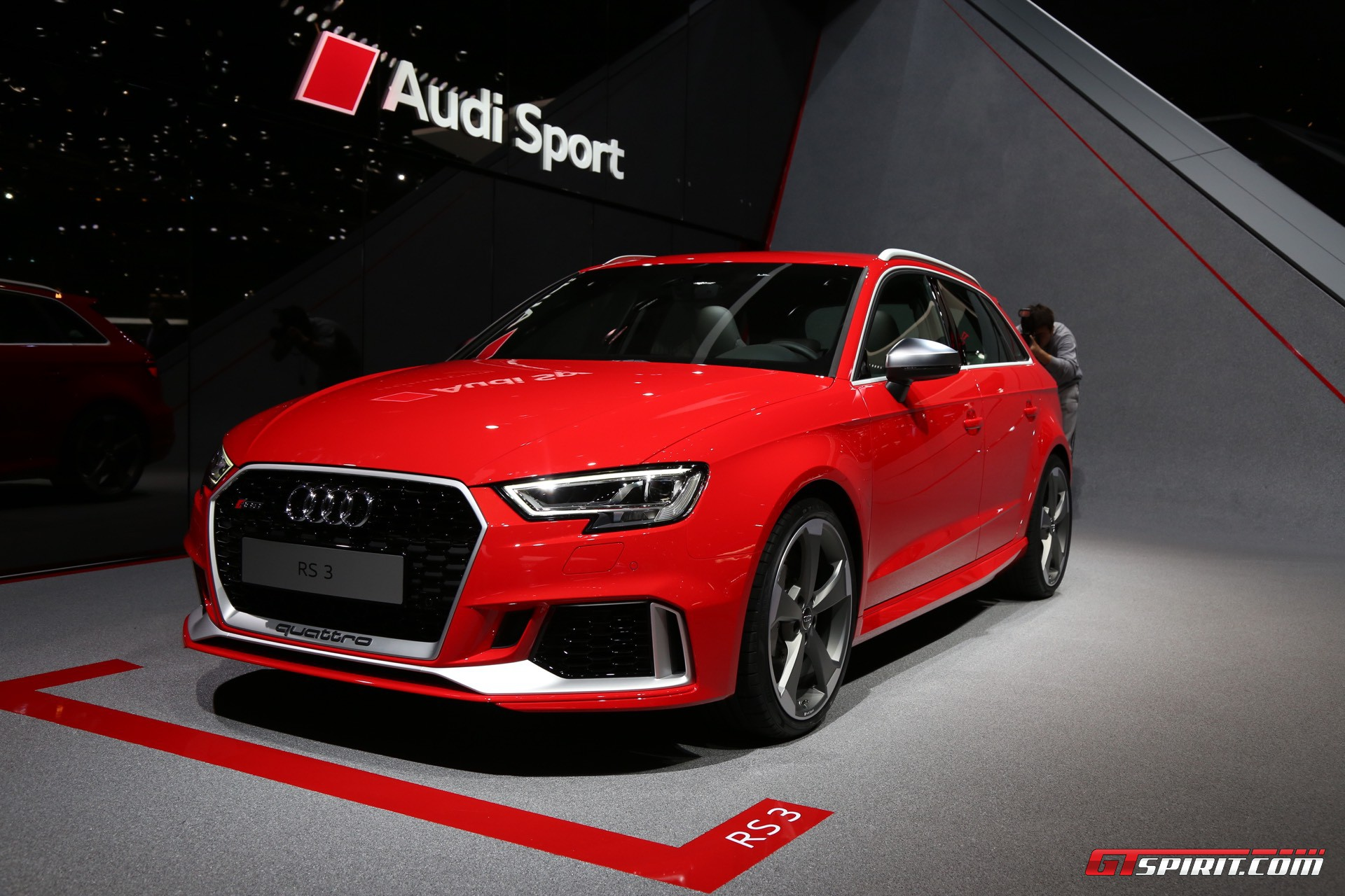 Audi RS3 Sportback at Geneva 2017