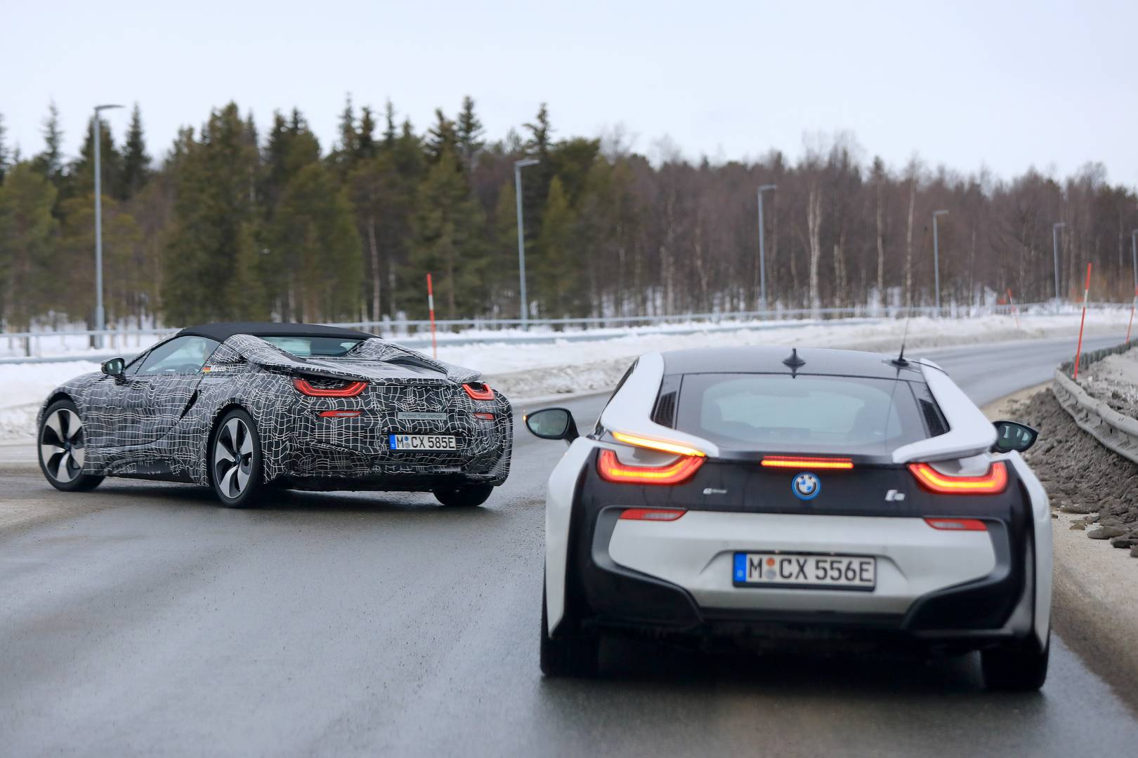 Bmw I8 Spyder First Spy Shots Gtspirit