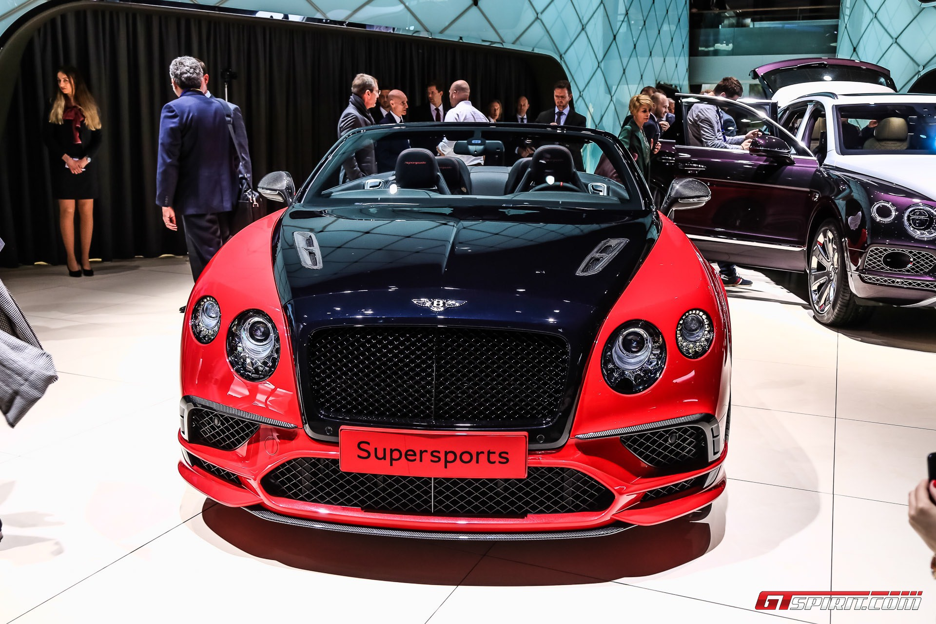 geneva 2017 bentley continental supersports coupe convertible gtspirit. Black Bedroom Furniture Sets. Home Design Ideas
