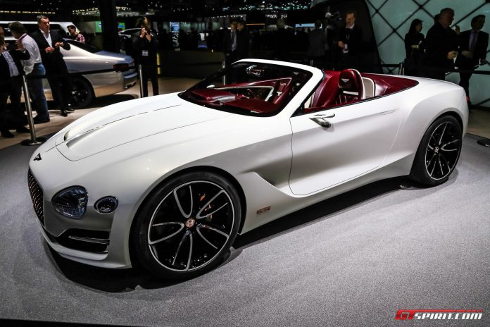 Bentley EXP12 Speed 6e Concept at the Geneva Motor Show 2017