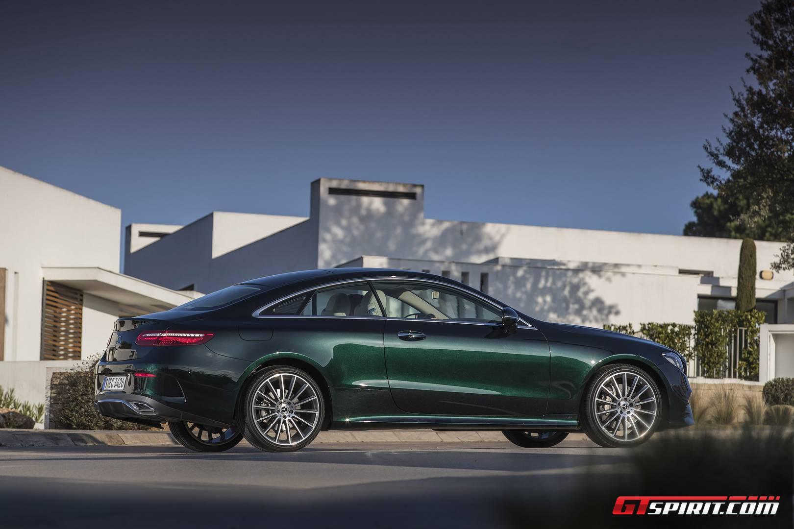 E400 Coupe 2018 >> 2017 Mercedes-Benz E-Class Coupe Review - GTspirit