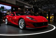 Ferrari 812 Superfast at the Geneva Motor Show 2017