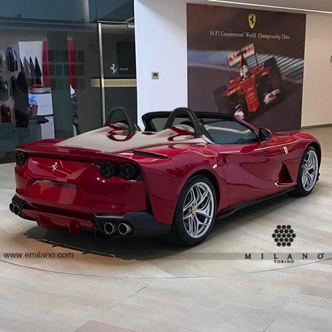 Ferrari 812 Superfast Barchetta Render Gtspirit