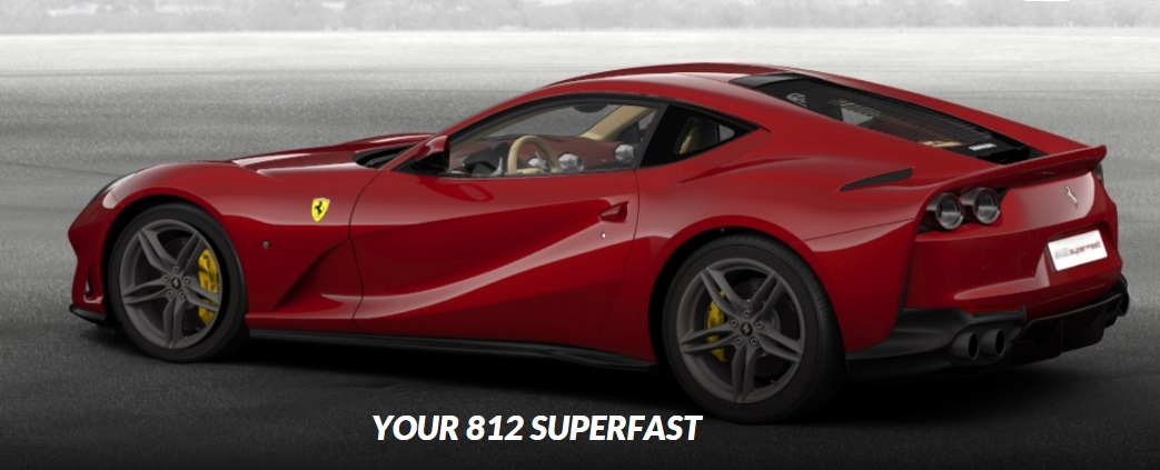 Ferrari F12 Interior >> Ferrari 812 Superfast Online Configuration Launched - GTspirit