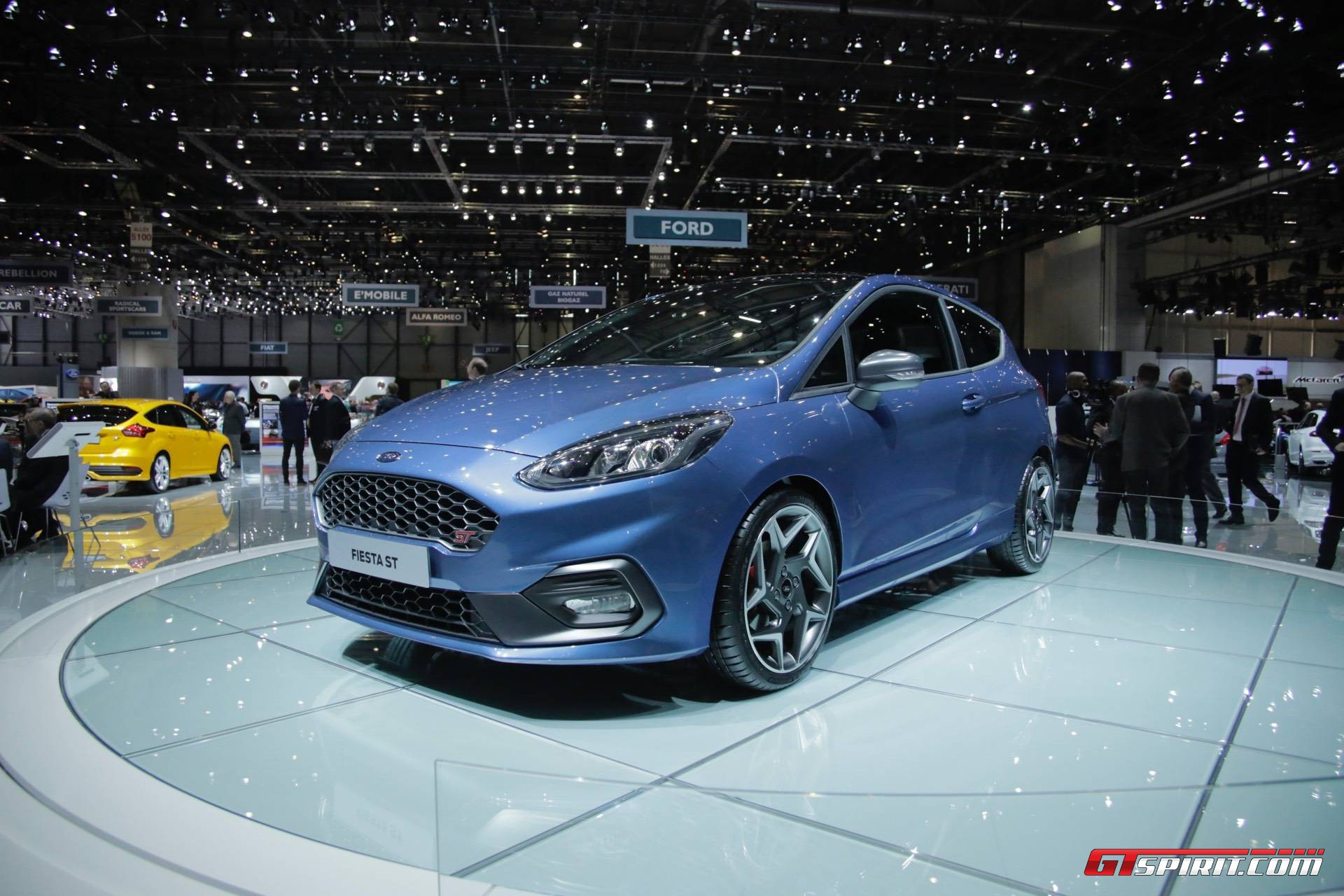geneva 2017 ford fiesta st gtspirit. Black Bedroom Furniture Sets. Home Design Ideas