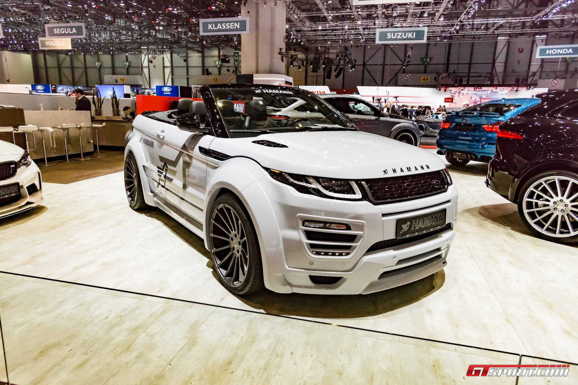 geneva 2017 hamann range rover evoque convertible gtspirit. Black Bedroom Furniture Sets. Home Design Ideas