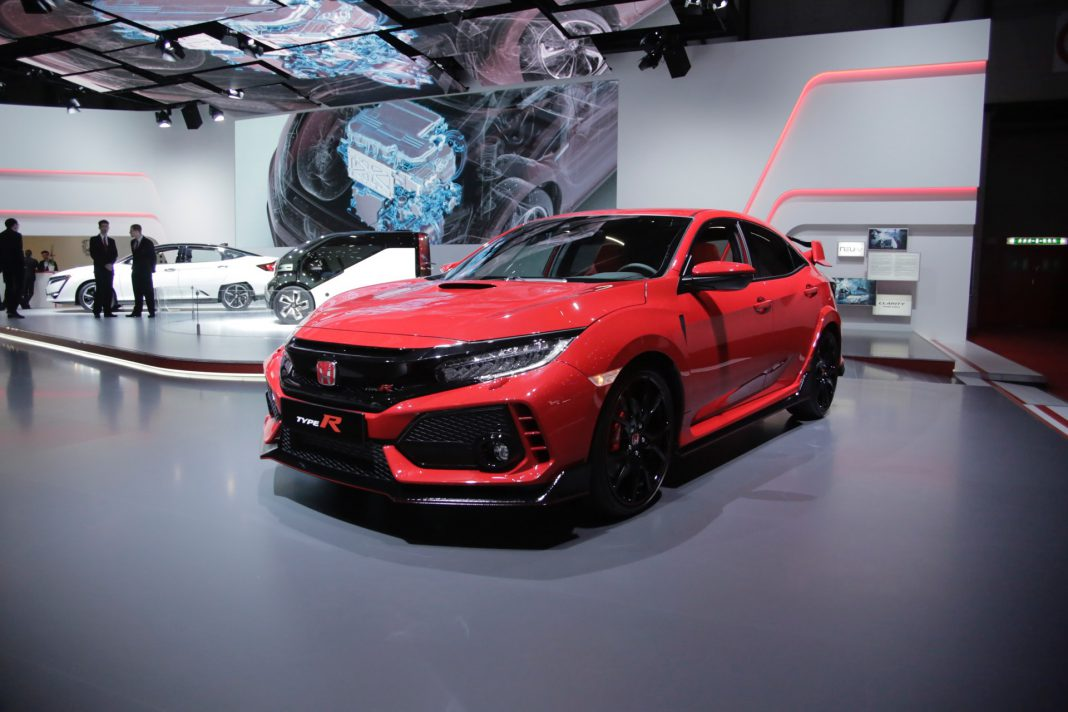 Honda Civic Type R at Geneva 2017