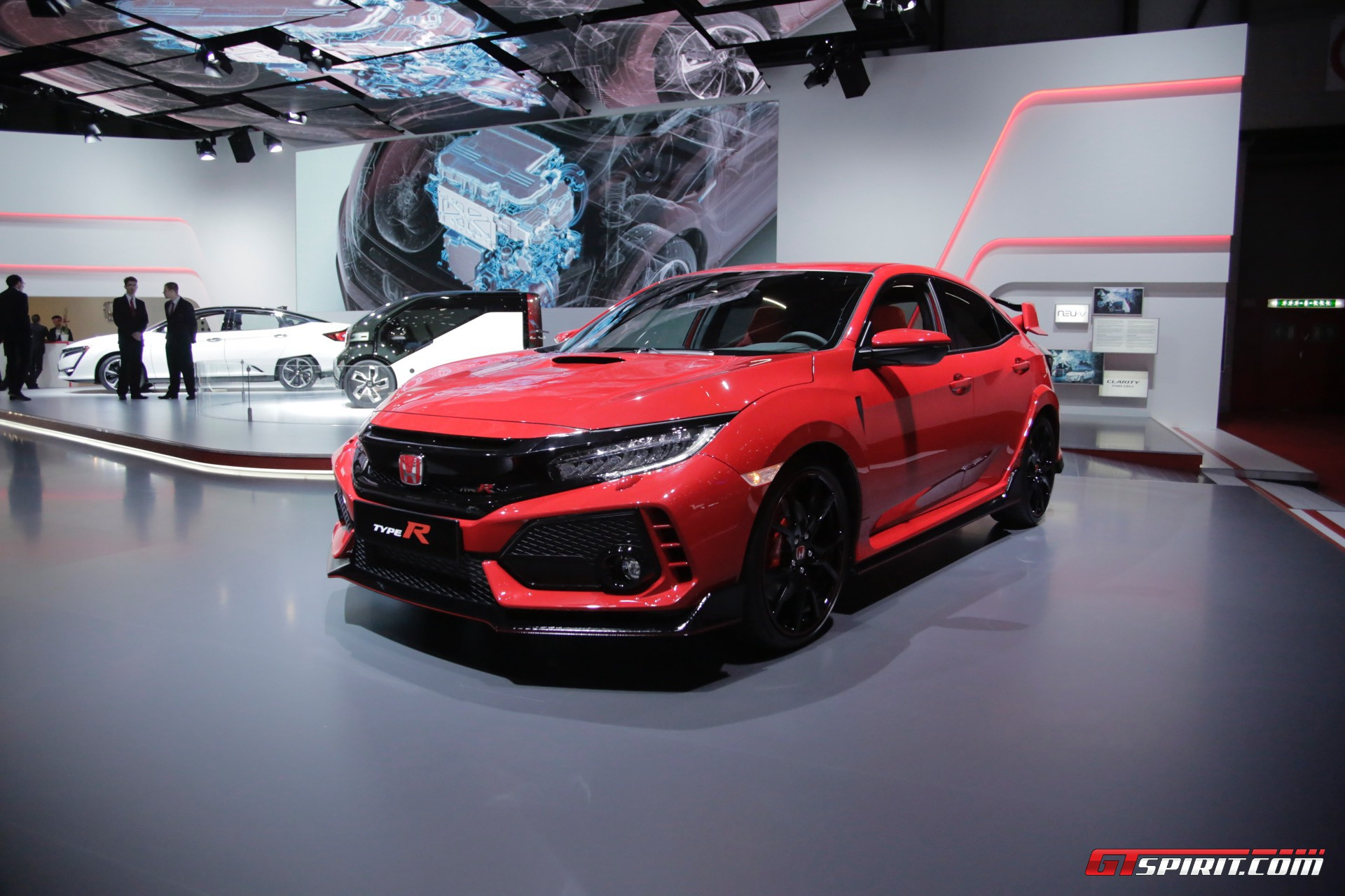 geneva 2017 honda civic type r gtspirit. Black Bedroom Furniture Sets. Home Design Ideas