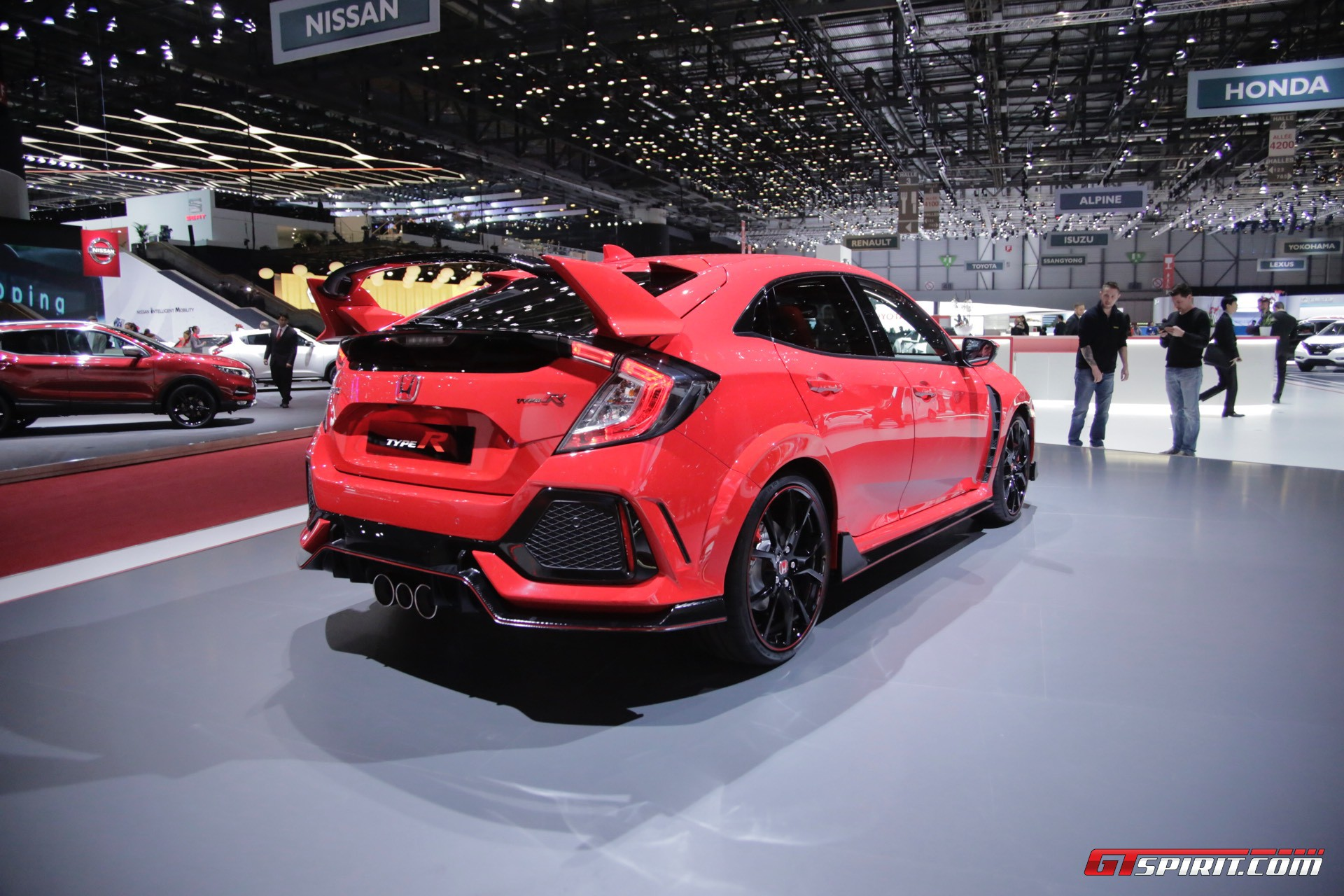 Geneva 2017: Honda Civic Type-R - GTspirit