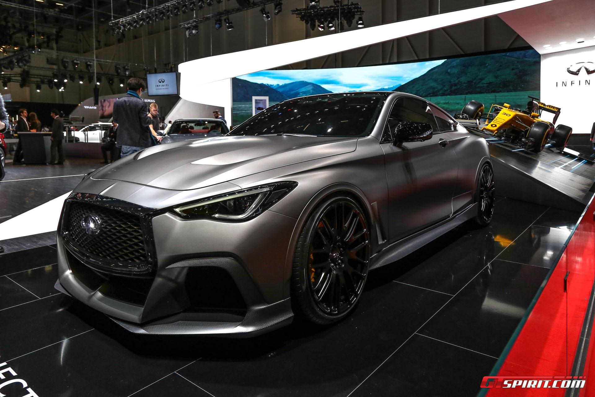 Geneva 2017: Infiniti Project Black S Concept - GTspirit