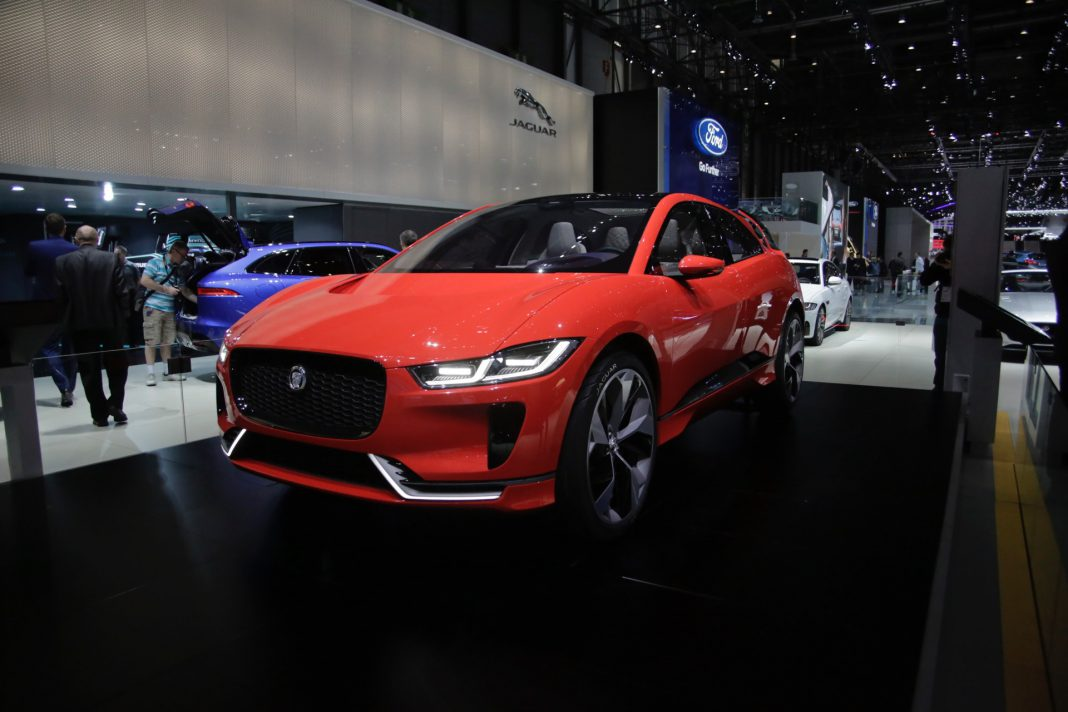 Jaguar I-Pace at Geneva 2017