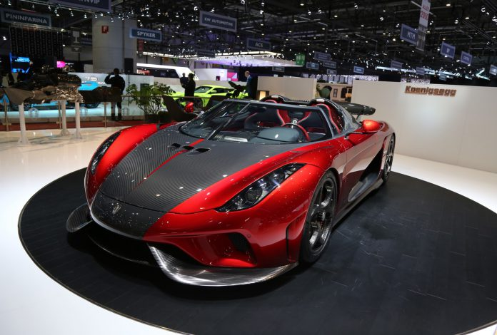 Koenigsegg Regera Production Spec at the Geneva Motor Show 2017