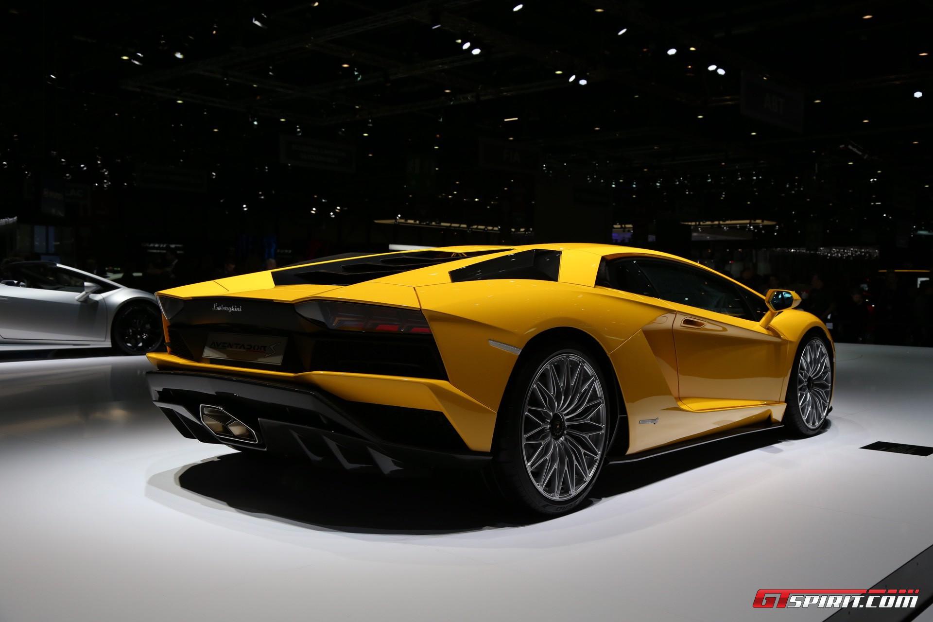 Geneva 2017: Lamborghini Aventador S - GTspirit