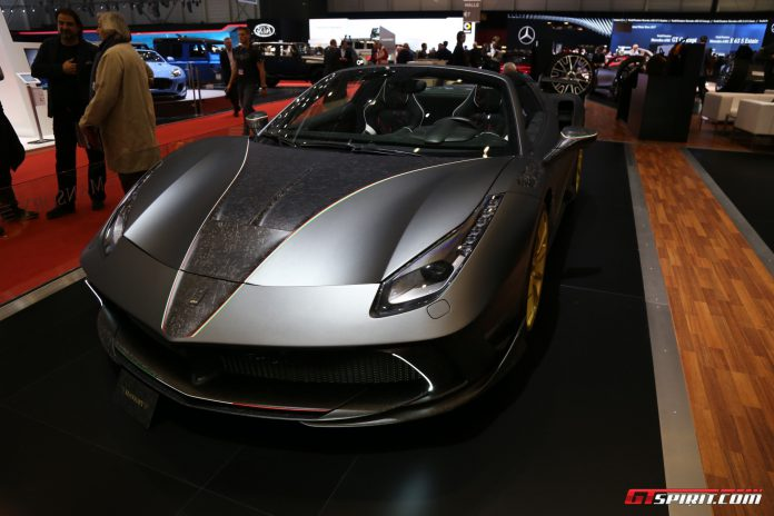 Mansory 4XX Spider at the Geneva Motor Show 2017