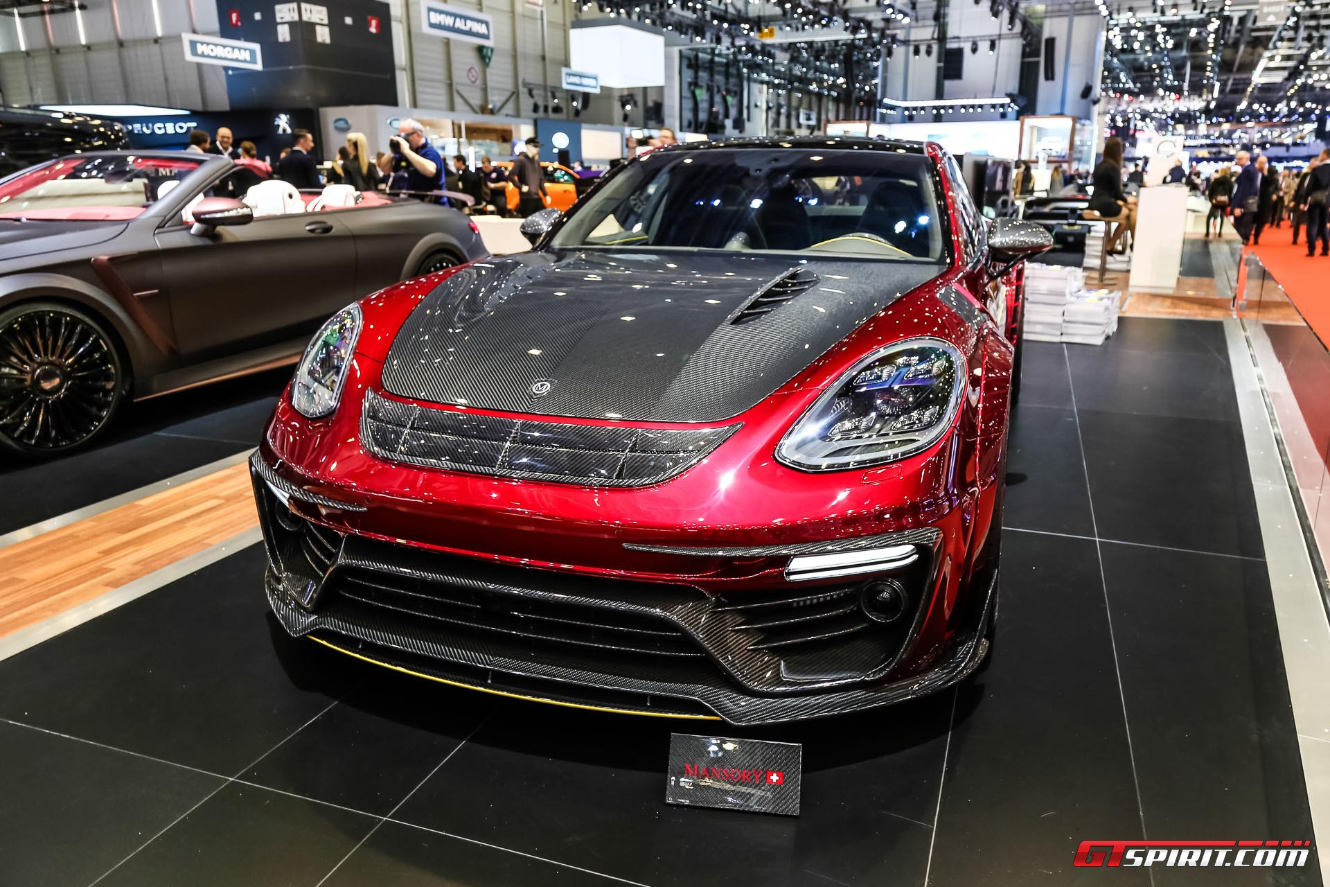 Geneva 2017: Mansory Porsche Panamera - GTspirit