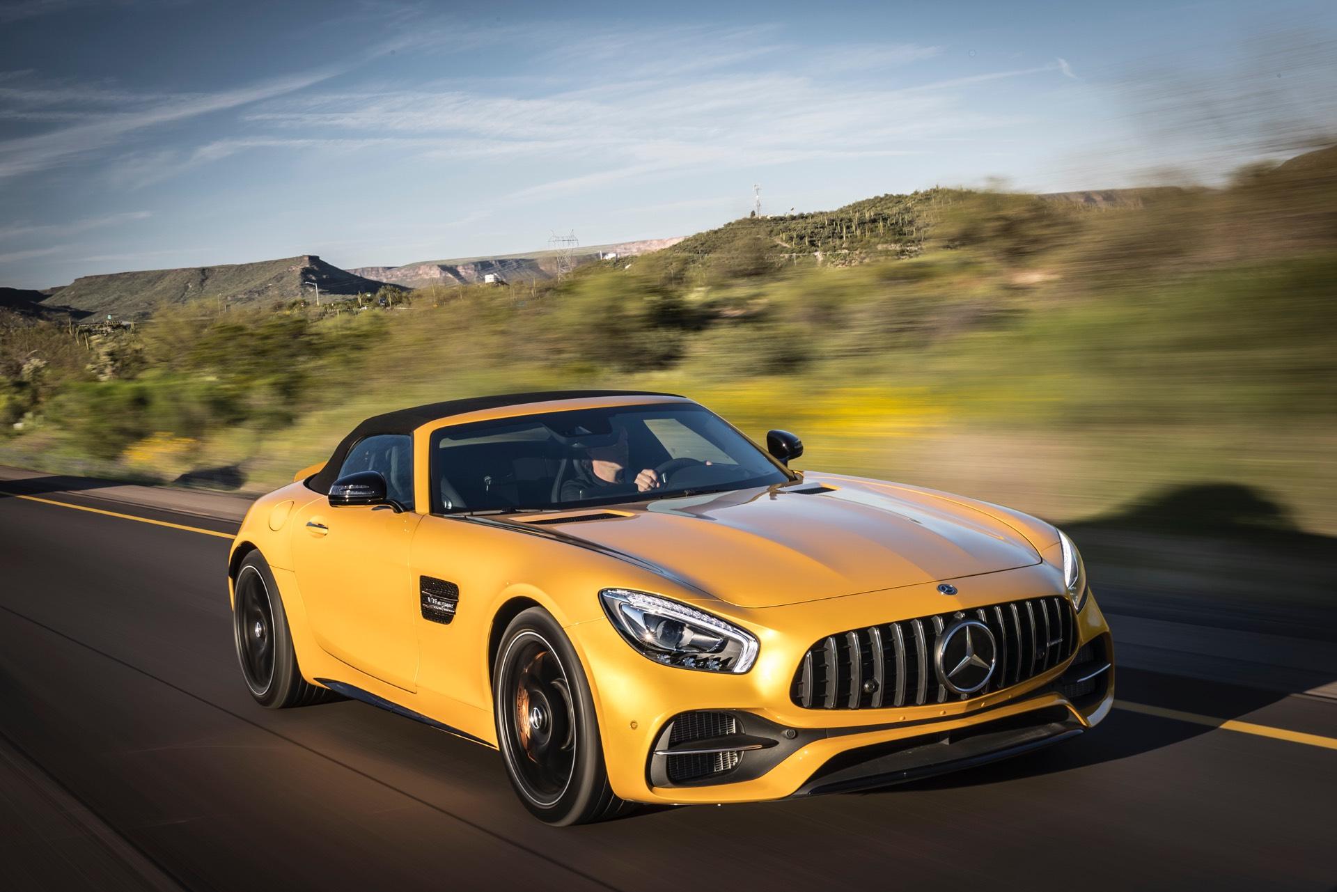Mercedes Amg Gt C Roadster Review Gtspirit