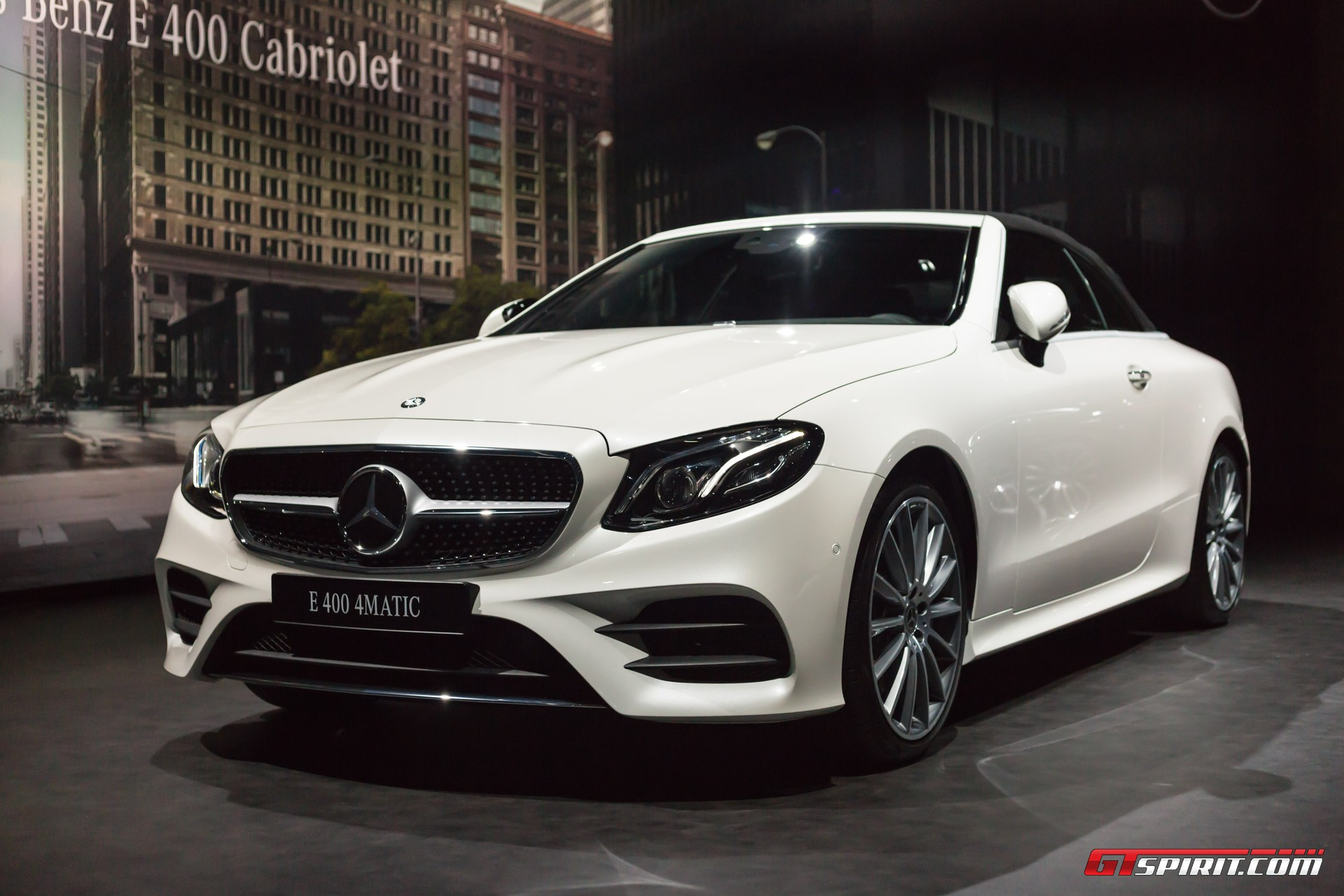 Geneva 2017 mercedes benz e class cabriolet gtspirit for Convertible mercedes benz 2017