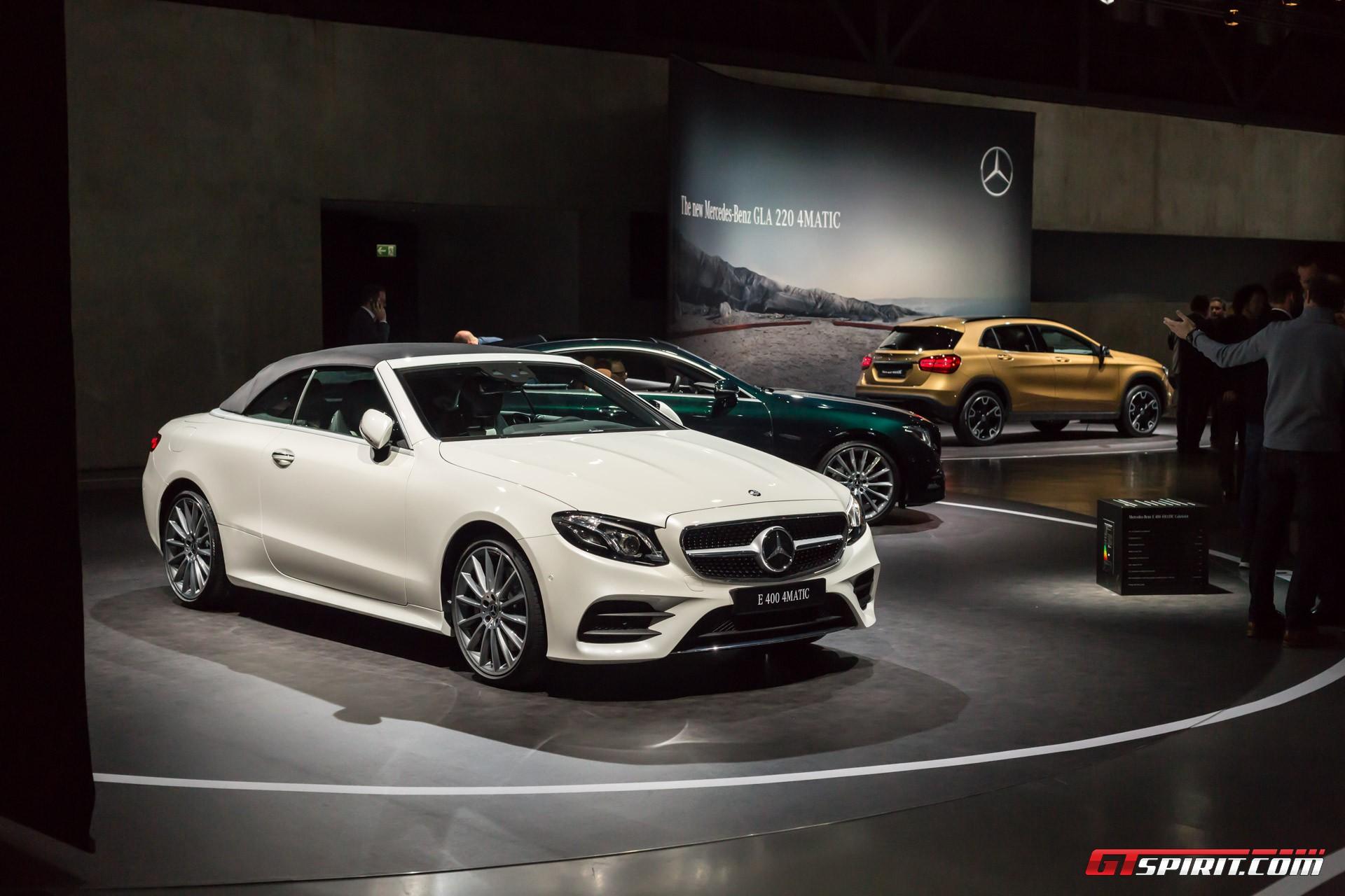 Mercedes-Benz E-Class Convertible Geneva 2017