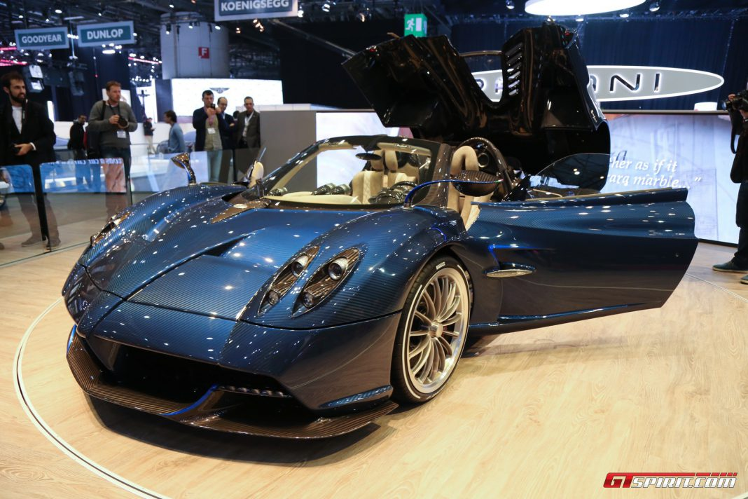 Pagani Huayra at the Geneva Motor Show 2017