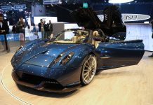 Pagani Huayra Roadster at Geneva 2017
