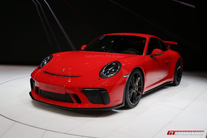 Porsche 911 GT3 991.2 at the Geneva Motor Show 2017