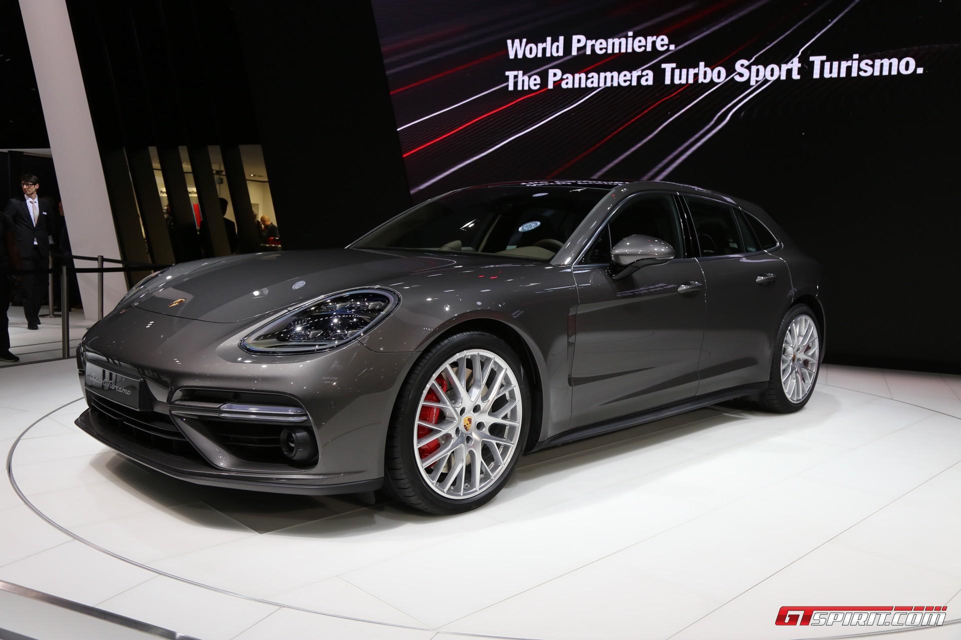 Geneva 2017 Porsche Panamera Sport Turismo Gtspirit